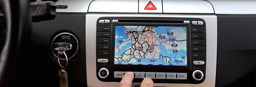 guidage par GPS installer